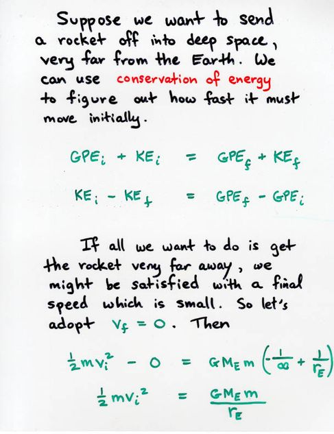 how to work out the velocity of an object