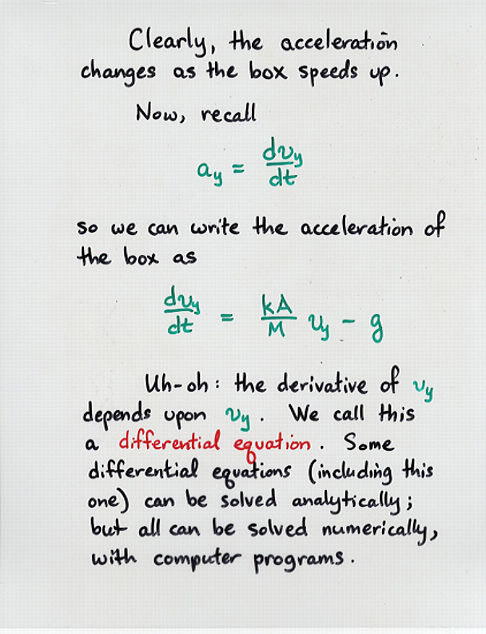 terminal velocity differential equation. viewgraph 10 terminal velocity differential equation f
