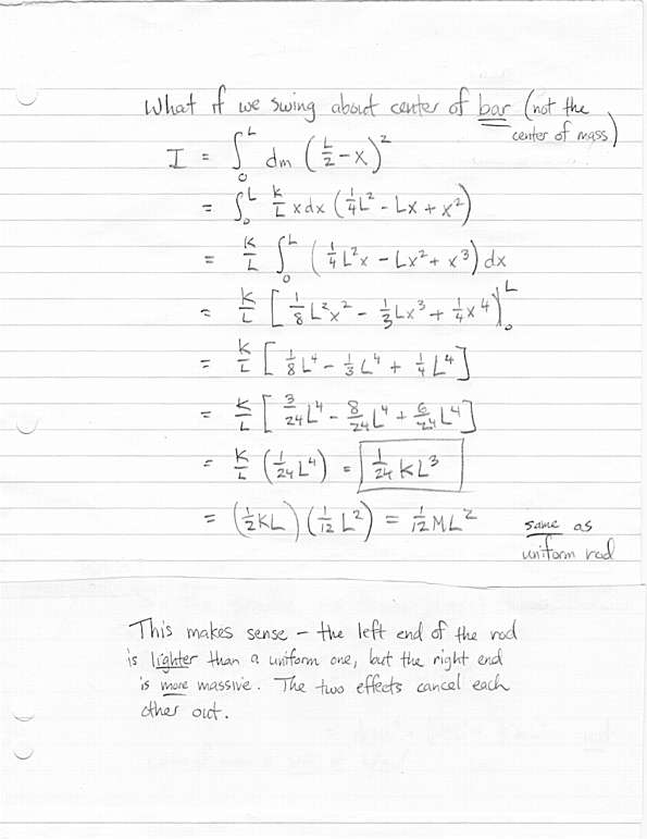 Physics 312 Lecture
