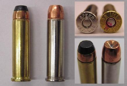 357 magnum ammo. Photo of ammunition (JSP on